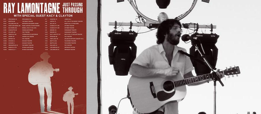 Ray LaMontagne at Isaac Stern Auditorium