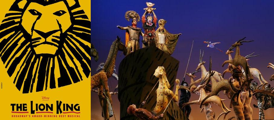The Lion King at Minskoff Theater