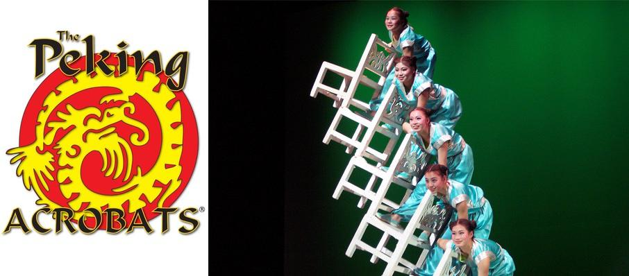 Peking Acrobats at Prudential Hall