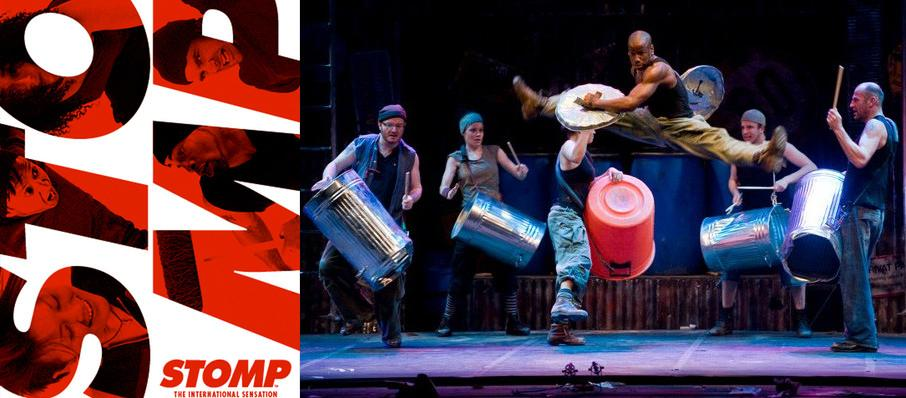 Stomp at Orpheum Theater