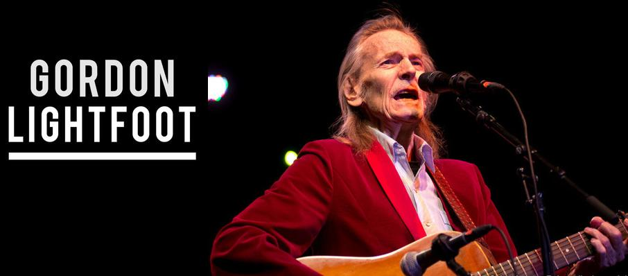 Gordon Lightfoot at Count Basie Theatre
