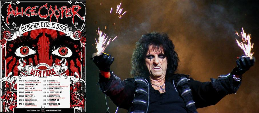 Alice Cooper at Bethel Woods Center For The Arts