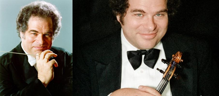 Itzhak Perlman at Bergen Performing Arts Center