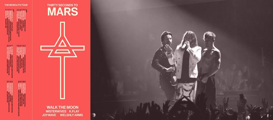 30 Seconds To Mars Tickets Calendar Jul 2018 Madison Square Garden New York