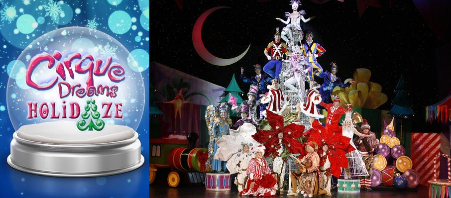 Cirque Dreams Holidaze at Prudential Hall