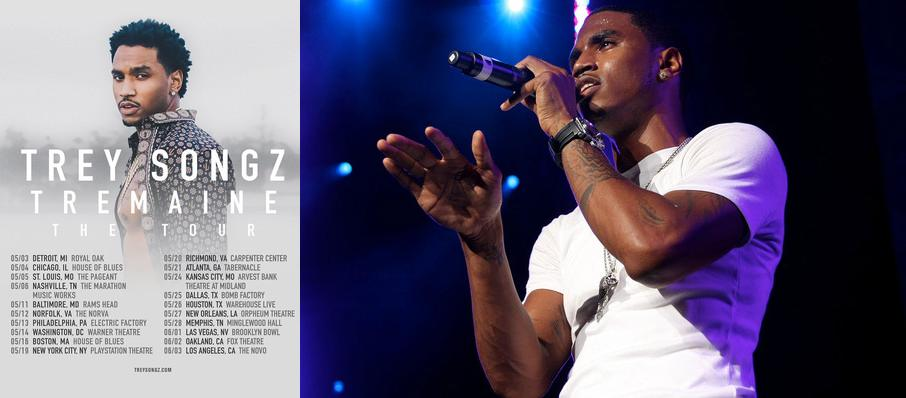 Trey Songz at Theater at Madison Square Garden
