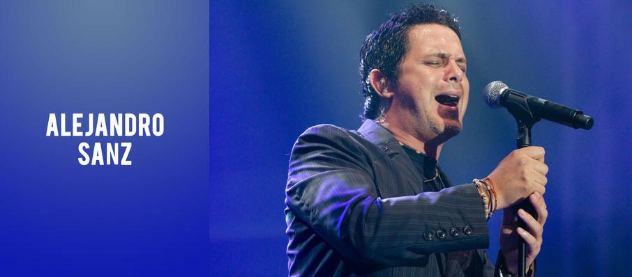 Alejandro Sanz at Theater at Madison Square Garden