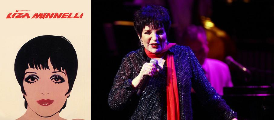 Liza Minnelli at Town Hall Theater