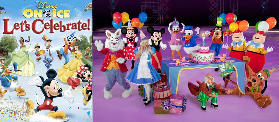 Disney On Ice: Let's Celebrate at Izod Center