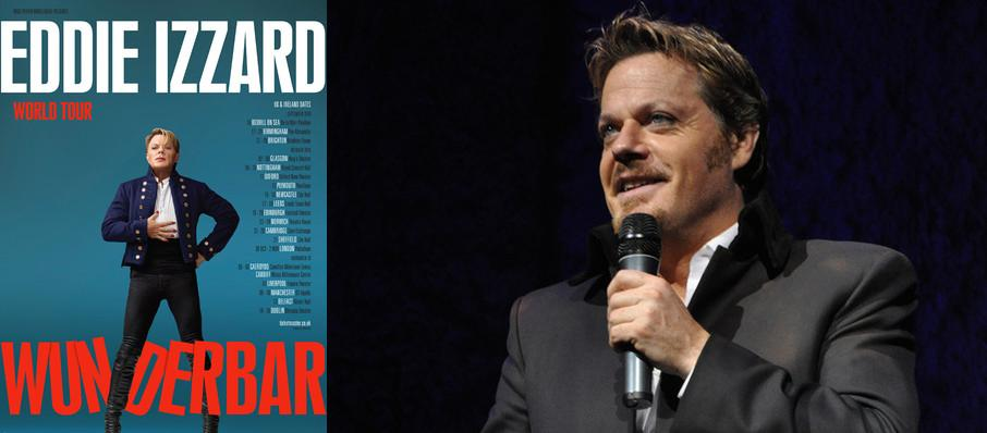 Eddie Izzard at Bergen Performing Arts Center