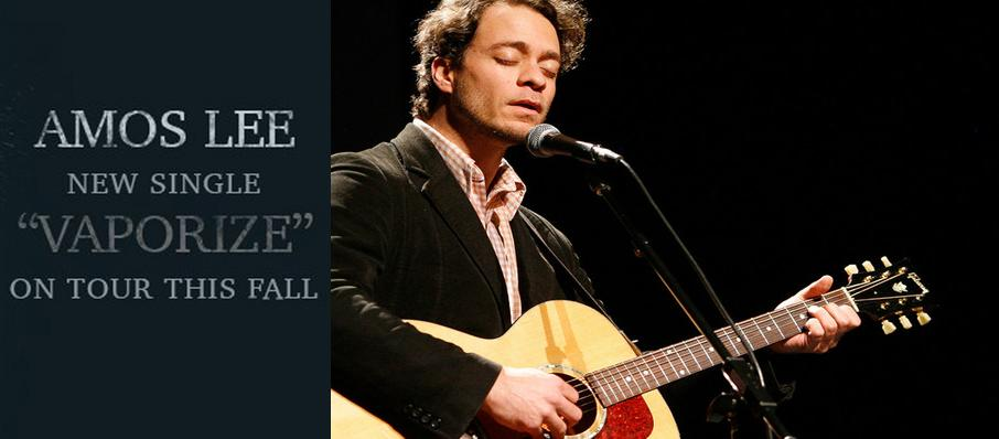 Amos Lee at Bergen Performing Arts Center