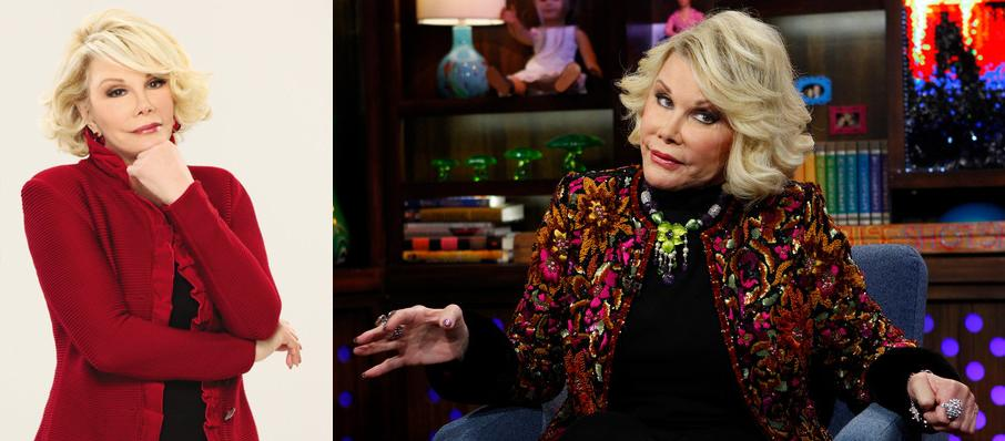 Joan Rivers at St. George Theatre