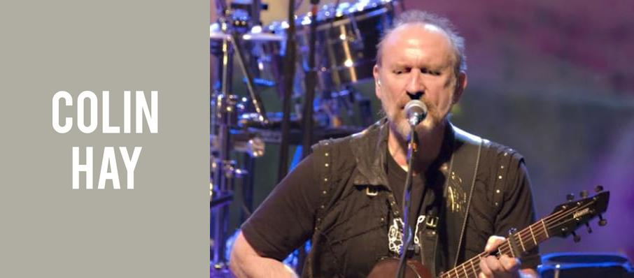 Colin Hay at Tarrytown Music Hall