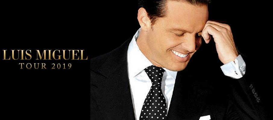 Luis Miguel at Prudential Center