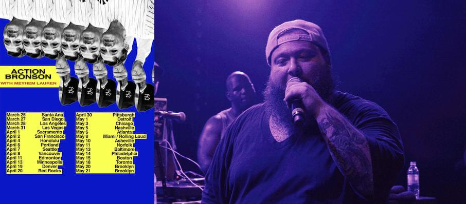 Action Bronson at Irving Plaza