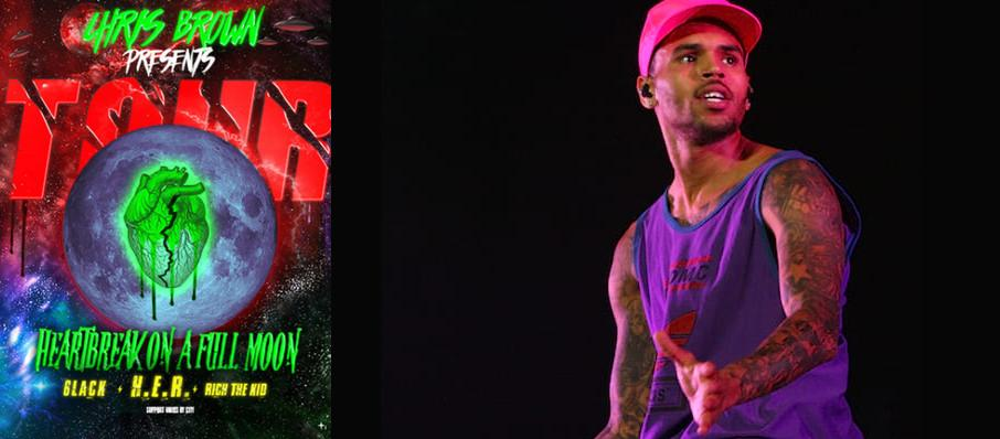 Chris Brown at Prudential Center