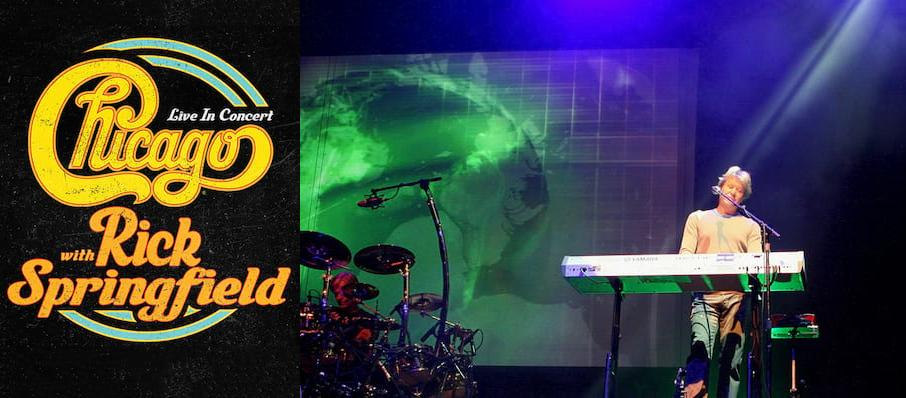 Chicago - The Band at Bergen Performing Arts Center