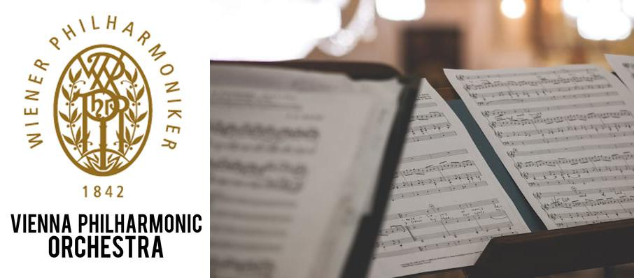 Vienna Philharmonic Orchestra at Isaac Stern Auditorium