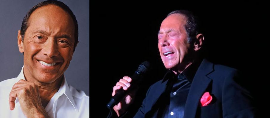 Paul Anka at Hackensack Meridian Health Theatre