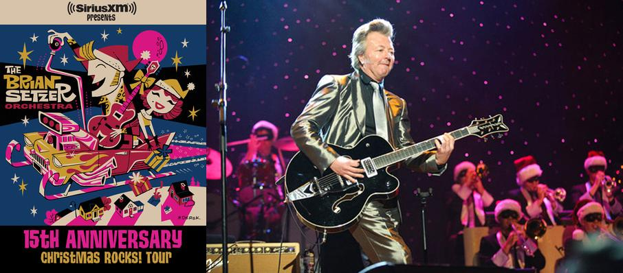 Brian Setzer Orchestra: Christmas Rocks at Bergen Performing Arts Center