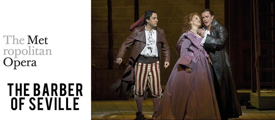 Metropolitan Opera: The Barber of Seville at Metropolitan Opera House