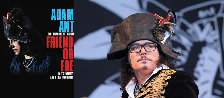 Adam Ant at Paramount Theatre