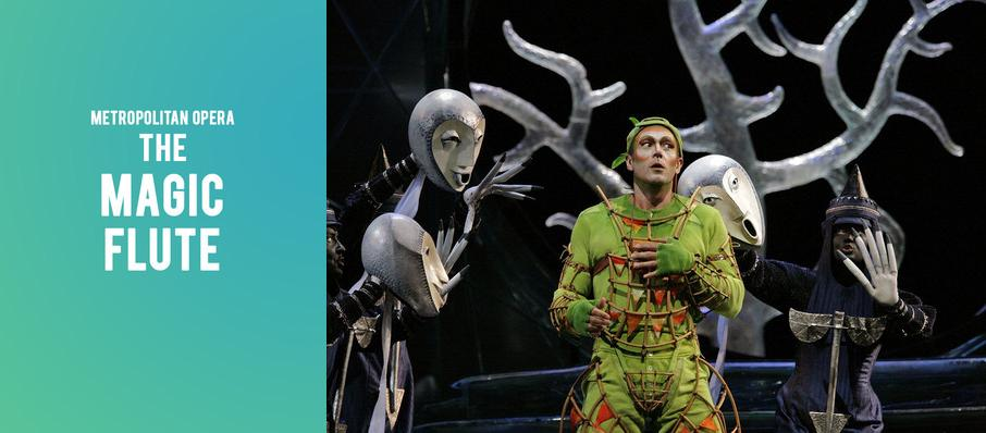 Metropolitan Opera: The Magic Flute at Metropolitan Opera House