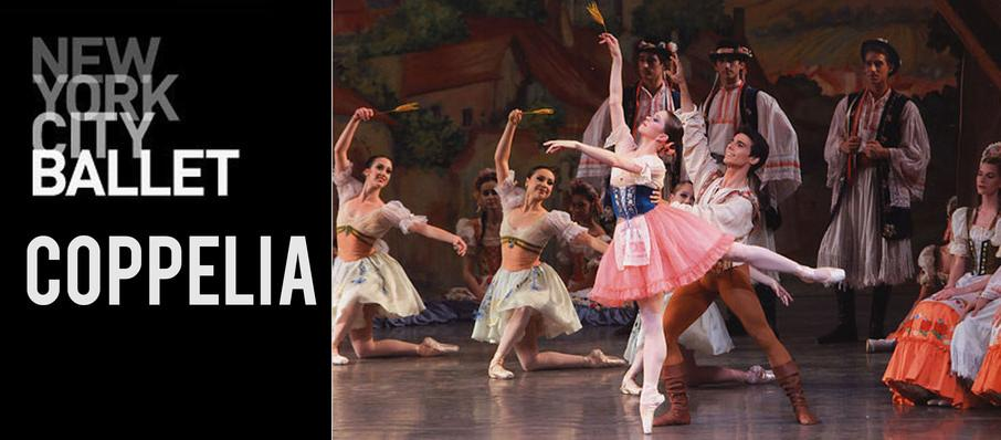 New York City Ballet: Coppelia at David H Koch Theater