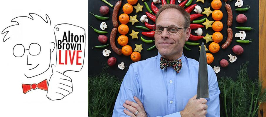 Alton Brown - The Edible Inevitable Tour at Beacon Theater