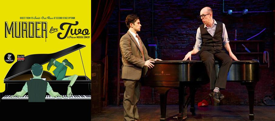 Murder For Two at Stage 5 New World Stages