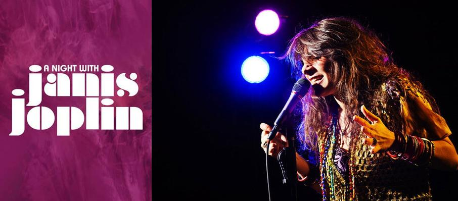 A Night with Janis Joplin at Hackensack Meridian Health Theatre