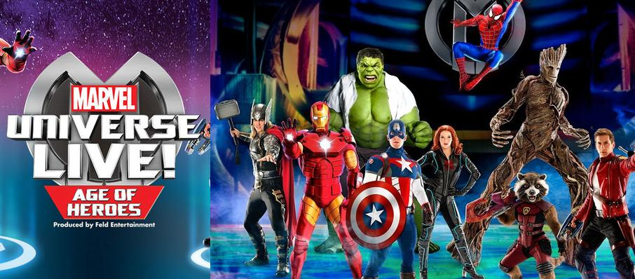 Marvel Universe Live! at Izod Center