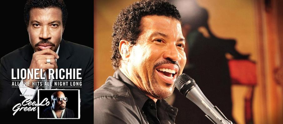Lionel Richie & CeeLo Green at Nikon