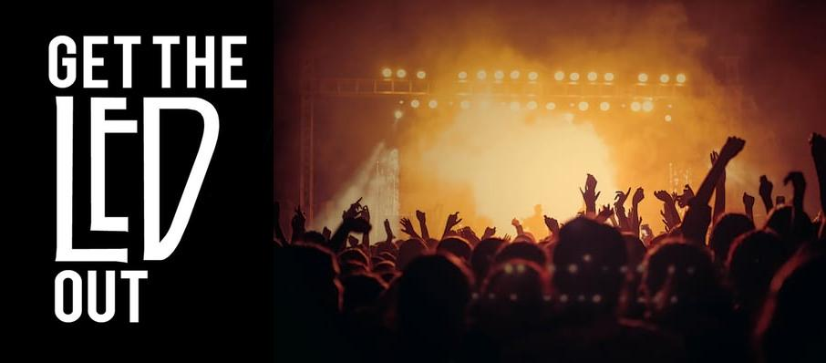 Get The Led Out - Tribute Band at Paramount Theatre