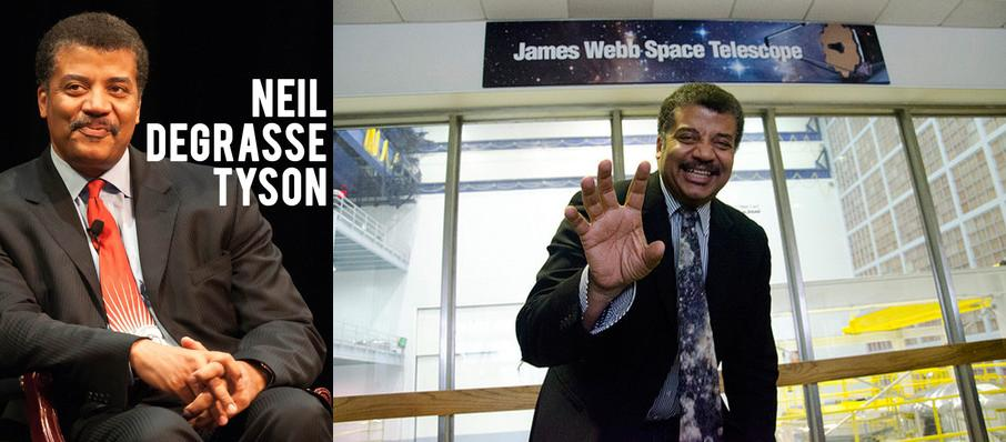 Neil DeGrasse Tyson at Prudential Hall