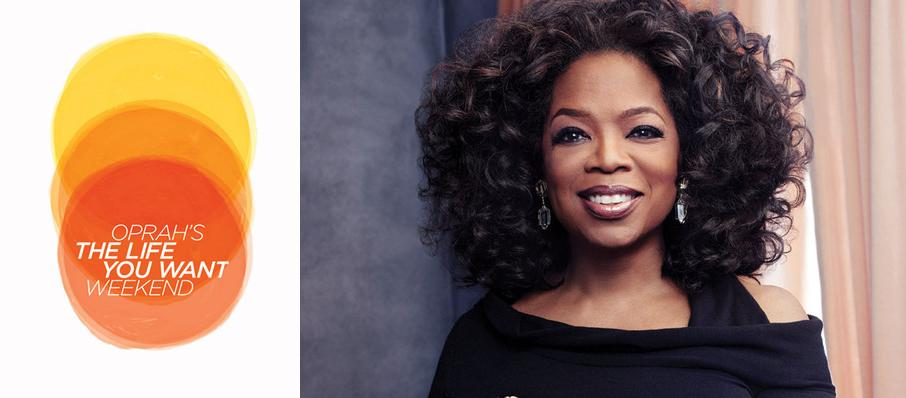 Oprah Winfrey - 2 Day Pass at Prudential Center