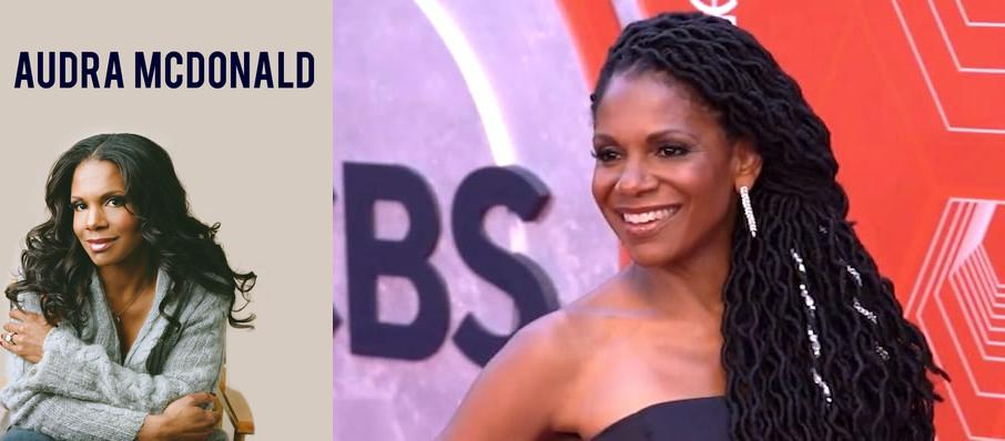 Audra McDonald at Mccarter Theatre Center