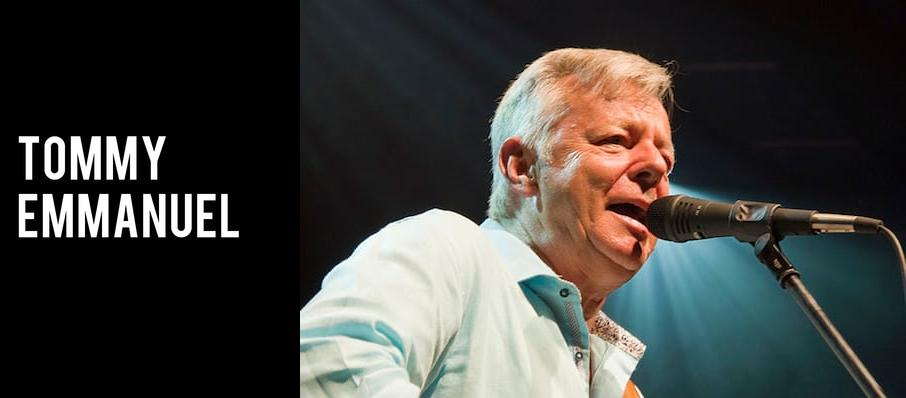 Tommy Emmanuel at Hackensack Meridian Health Theatre