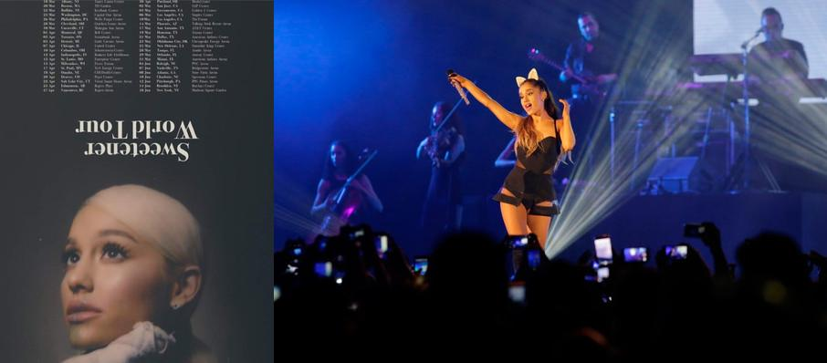 Ariana Grande at Madison Square Garden