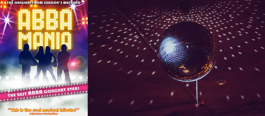 ABBA Mania at Hackensack Meridian Health Theatre