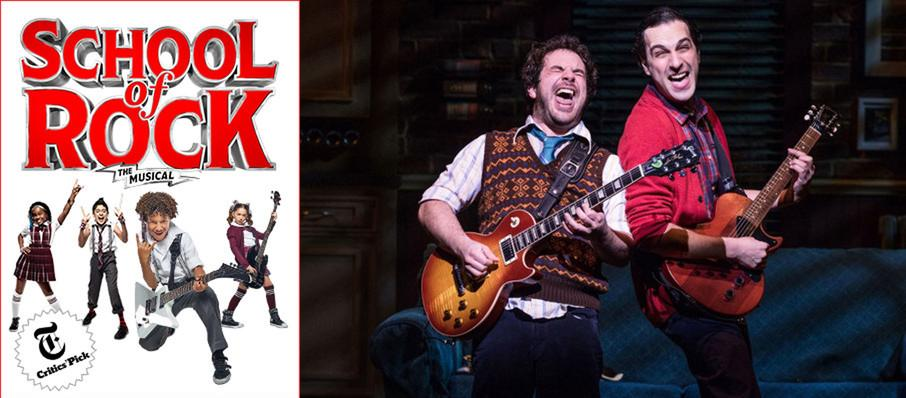 School of Rock - The Musical at Winter Garden Theater