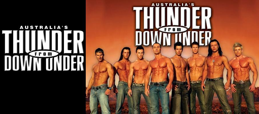 Thunder From Down Under at Gramercy Theatre