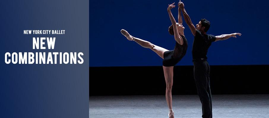 New York City Ballet: New Combinations at David H Koch Theater