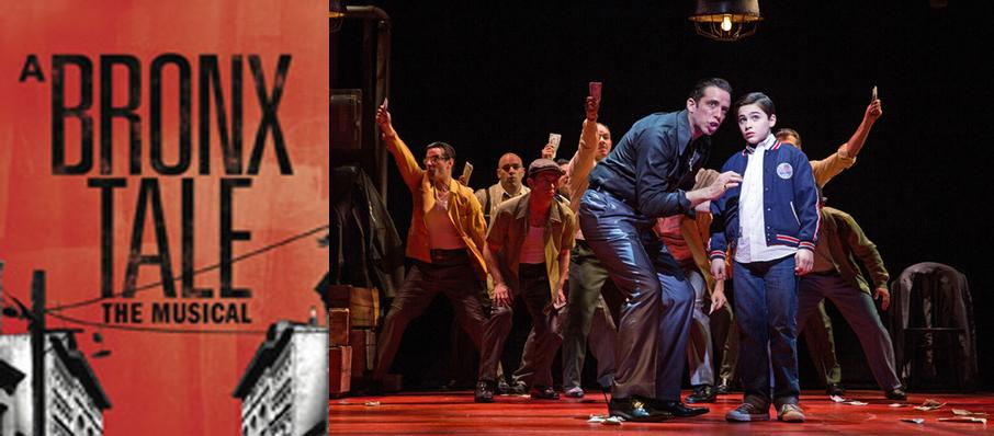 A Bronx Tale at Paper Mill Playhouse