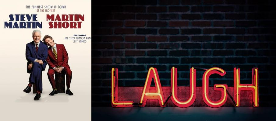 Steve Martin & Martin Short at Prudential Hall