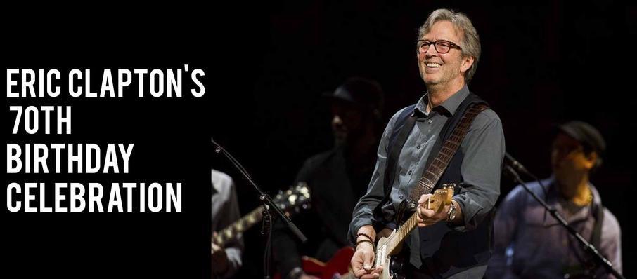 Eric Clapton 39 S 70th Birthday Celebration Tickets Calendar Jan 2019 Madison Square Garden New
