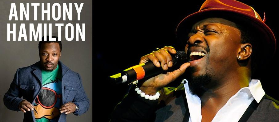 Anthony Hamilton at Prudential Hall
