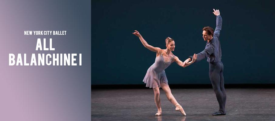 New York City Ballet - All Balanchine I at David H Koch Theater