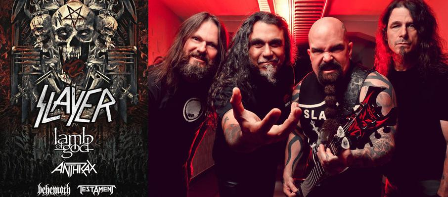 Slayer at Madison Square Garden