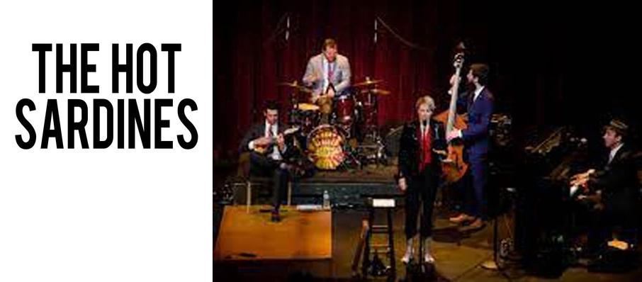 The Hot Sardines at Mccarter Theatre Center